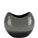 Ceramic vase oval